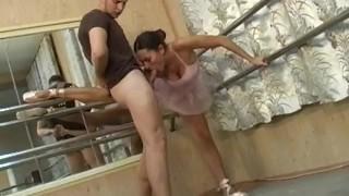 busty ballet sex Blonde cumshot