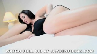 Jaymes solo white sheets jayden girl solo