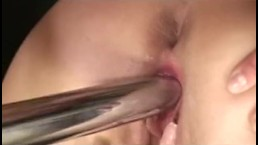 Young sexy lesbians fuck their friend's pussy with dildo