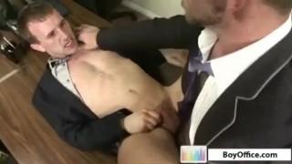 Cock fucking boyoffice hard teacher anal