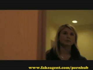 FakeAgent Hot young amateur fucks in Casting