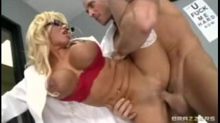 Bigdick fucked clinic in hard doctor milf blonde bigtit slut by deep tits