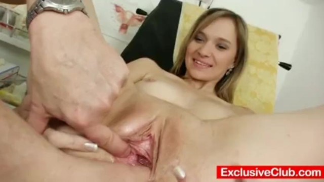 Boku no sexual harrasment full - Petite babe scarlet harrassed by gyno doctor