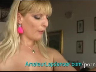 Blonde and dog anal