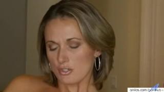 Classy milf penetrates pussy Cockriding mature