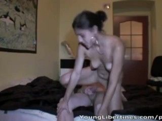 Her tight young pussy