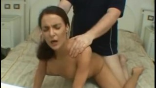 Smallest the banged with by the skinny guy dick chick facial czech