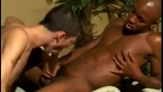 Action interracial men hot gaymen cock