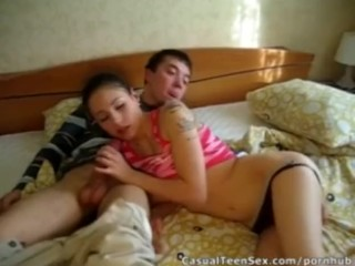Wake-up sex after a party