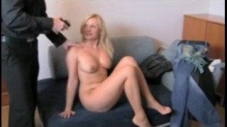 FakeAgent. Clueless MILF does anal.