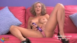 Panty Stuffing and Stilettos a Brandi Love Amateur Adventure