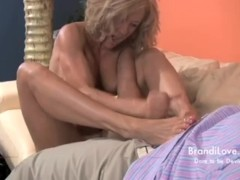 - Footjob Fantasies a Brandi Love Amateur Adventure/><br/>                         <span class=