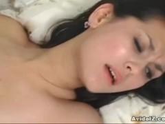 Hot Japanese babe Maria Ozawa deeply fucked