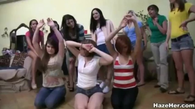 Lesbian Hazing Video