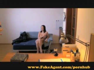 FakeAgent. Suspicious student still surrenders her body.