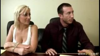 Horny bigdick work office bigtit blonde at brunette fuck sluts tight big