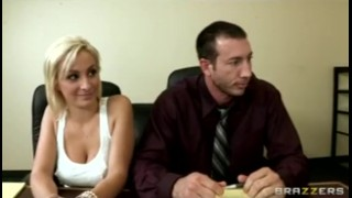 Horny bigdick work office bigtit blonde at brunette fuck sluts tight big