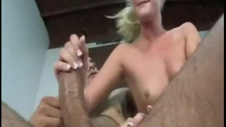 Gets dick sucks and jones taylor fucked first blowjob