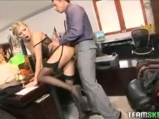 Sex Party College Galleries Teamskeet Sexy Blonde Donna Bell Office Deepthroat Anal Sex, Blonde Hard
