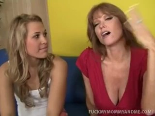 Preview 1 of Kimberly And Her Mom Fuck A Massive Fat Cock