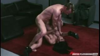 Hot selena brunette stripper client's fucks bigdick latina rose big stripper