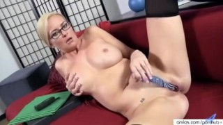 whot sexy horny office work milf