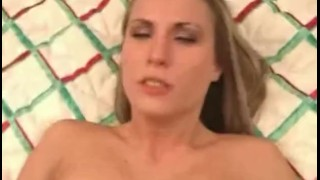 Blonde hotel banged room the busty gets in big hand