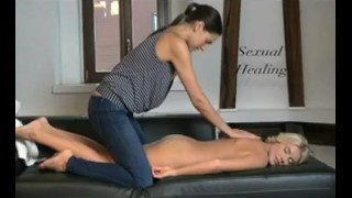 DaneJones Teen gets lesbian massage