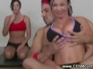 Dirty yoga instructors naughty lesson