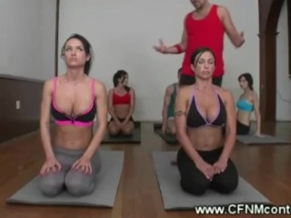Preview 5 of Dirty Yoga Instructors Naughty Lesson