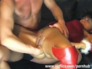 fist fucking her destroyed vagina