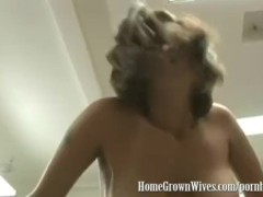HomeGrownWives Cheating MILF Gets Ass Fucked In a Garage