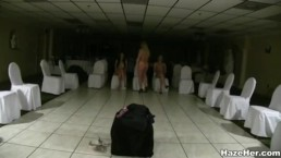 Naked Sorority Hazing Ritual