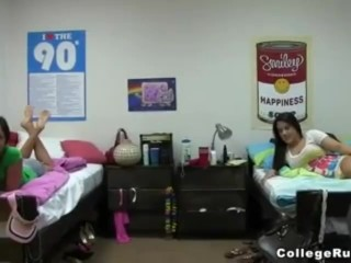 Hot College Blonde Car Banged