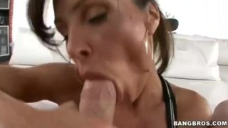 Lisa Ann BJ and Hardcore Anal Tits pussy