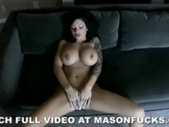 Pink lingerie home video