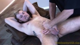 Throbbing Rock Hard Cock Jacked