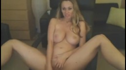 Hot Busty Blonde Fucks with Dildo HD