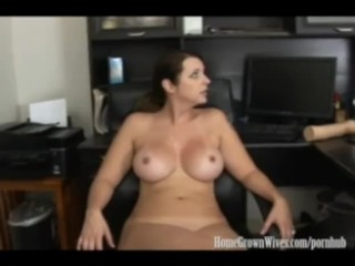 Seks Tube Porno Ru HomeGrownWives Big Tit Brunette Fucks Her Patient
