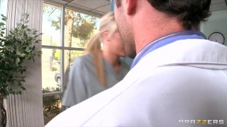HOT busty nurse Madison Ivy paid for rough-sex by hospital doctor Blonde anal