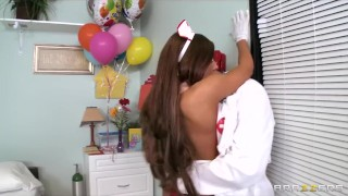 Ivy hot for paid madison doctor busty by hospital roughsex nurse bubble petite