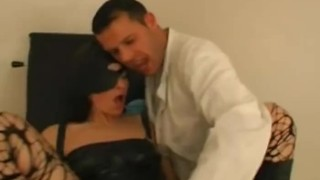 Masked Babe Banged At The Clinic