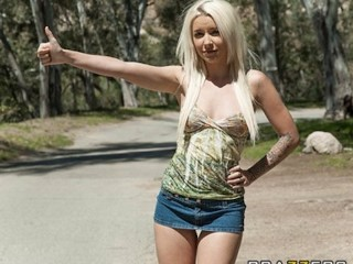 Wife Anal Cheating Stunning young blond hitchhiker Stevie Shae is picked up & fucked