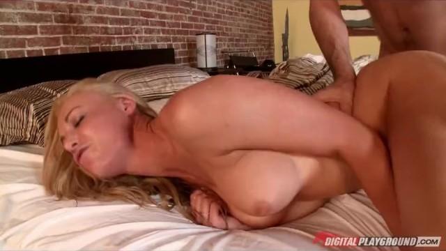 Horny Blond Bad Girl Kayden Kross Fucks Her Boyfriends -6552