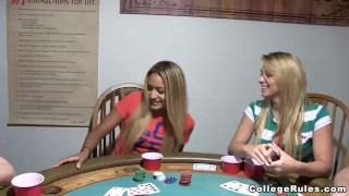 Sluts poker assed bare real busty
