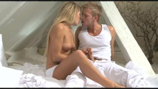 DaneJones Blonde girlfriend enjoys hard orgasm