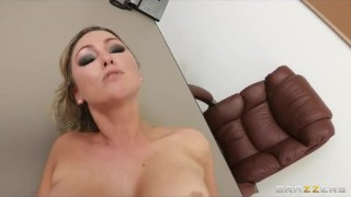 Office fucks brooks new her executive bigboobed employee abbey chubby brazzers