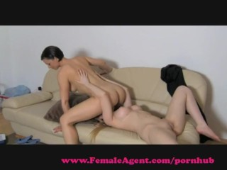 FemaleAgent. Big breasts casting