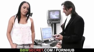 Married boss bangs his fat black secretary  big ass large ladies large breasts chunky huge boob bbw cuckold amateur cheat chubby fat busty plump bbwsecret.com big butt huge tits
