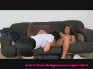 FemaleAgent. Wet and excited